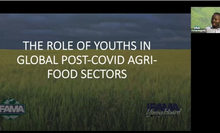 IFAMA Young Board Webinar highlights the Role of Youths in global post-COVID19 Food Systems